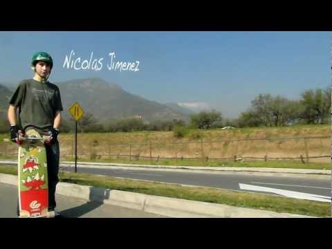 Longboard : Rider Nicolas Jimenez