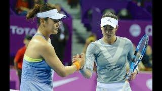 2018 Qatar Total Open Second Round | Duan Yingying vs Garbiñe Muguruza | WTA Highlights