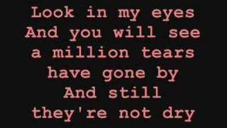 If Only Tears Could Bring You Back - lyrics