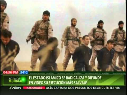 El estado Islámico se redicaliza y difunde en video su ejecución más salvaje
