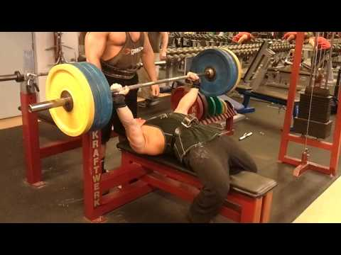 Mother Fucking Bench Press - 375 lbs x 8