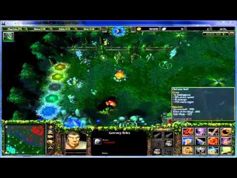 วิธีออกของ ซื้อของ dota / Warcraft III Part.2