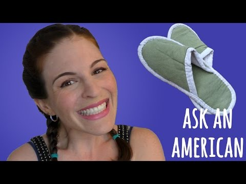 Ask An American: Do Americans WEAR SHOES INSIDE THE HOME?
