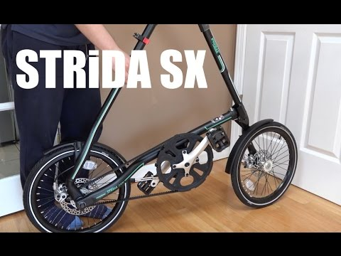 STRiDA SX Folding Bicycle Unboxing & Assembly