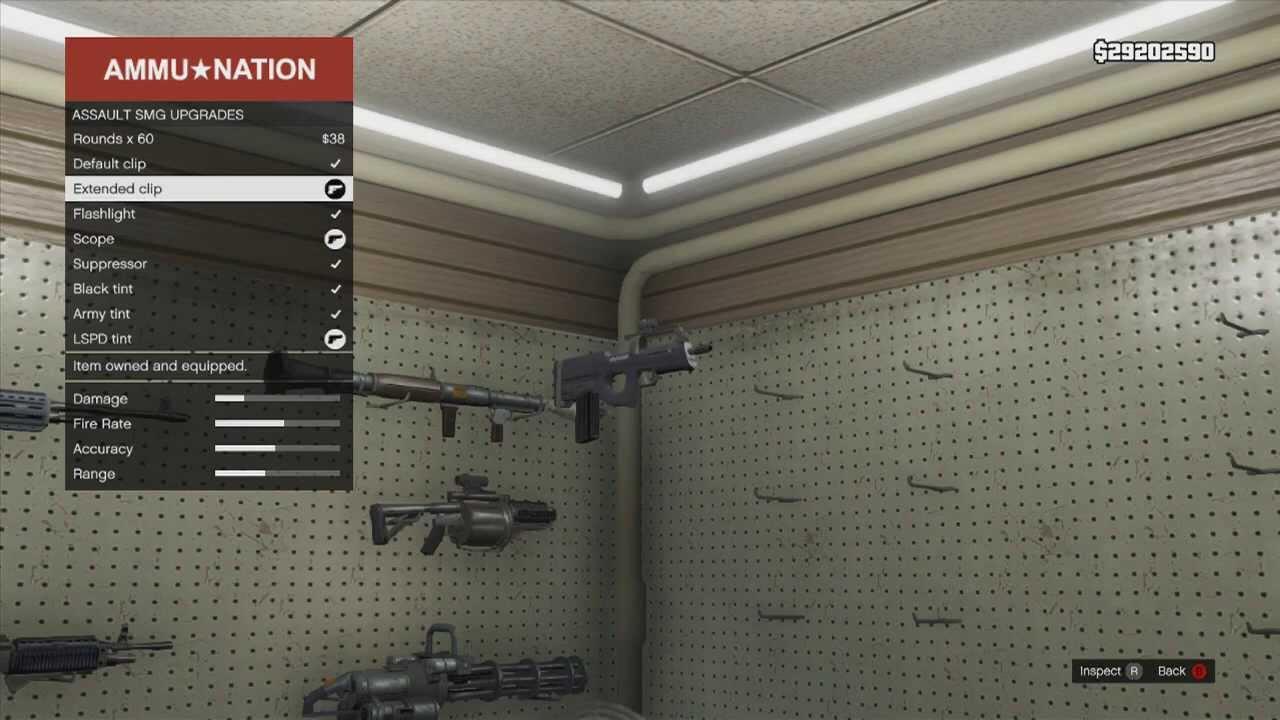 New Guns in Gta 5 Gta 5 New Weapon Assault Smg