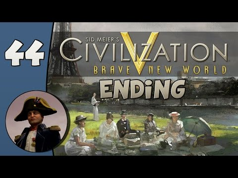 Civilization V Daily #2: France - Part 44 (Ending)