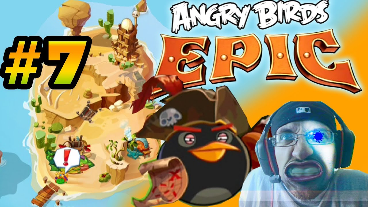 Bomb Bird Angry Birds Epic Lets Play Angry Birds Epic