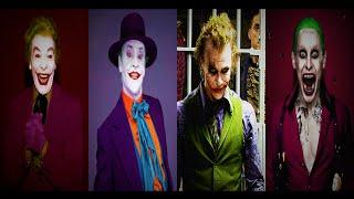 The Joker Actors: 1966, 1989, 2008, 2016