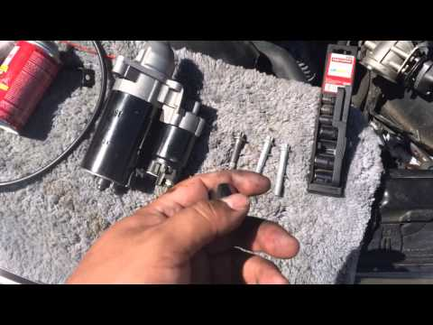TIP Removing Starter BMW 5 Series 3 Series E90 E39 528I 328I M5 M3