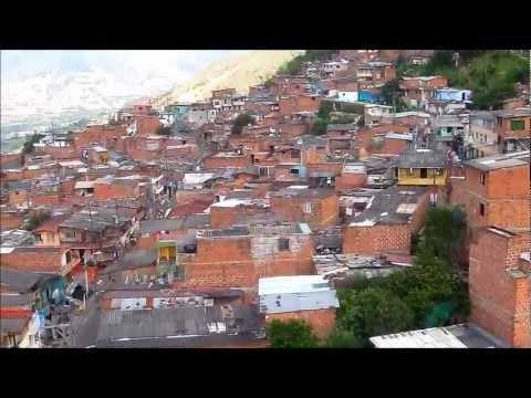 COLOMBIA: Life in Medellin: View from Metrocable