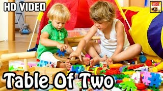 Learn Table of 2 | 2 x 1 = 2 | Learn Multiplication Table Of Two | Fun & Learn Video |