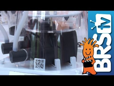 Skimz Protein Skimmers. Nano Tank. and More!   Interzoo 2014