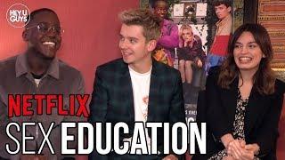 Sex Education | Asa Butterfield, Emma Mackey & Ncuti Gatwa on Netflix's Must-See Series
