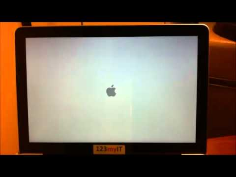 How to reinstall OSX Mountain Lion Macbook Pro using a DVD.