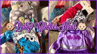 Baby Clothes Haul