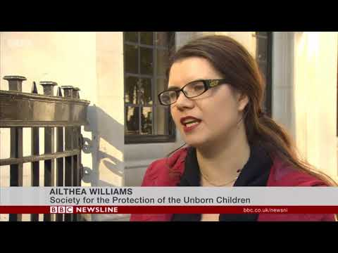Alithea Williams on BBC Northern Ireland