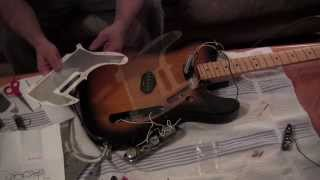 Installing Tex Mex pickups on Telecaster