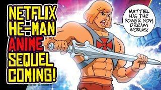 Netflix HE-MAN ANIME SEQUEL SERIES Announced!