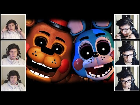 PIOR JOGO DE TERROR?! -  Five Nights at Freddy's 2 MULTIPLAYER!