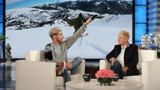 Zac Efron Skied on One Leg After Tearing ACL