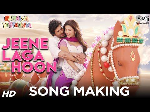 Jeene Laga Hoon Song Making - Ramaiya Vastavaiya Behind The Scenes