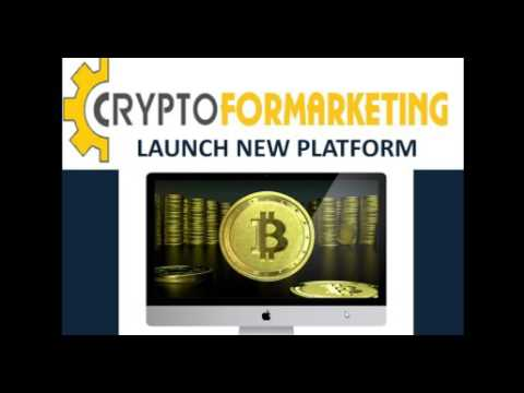 Crypto For Marketing Launch New Affiliate Platform 06-12- 2017
