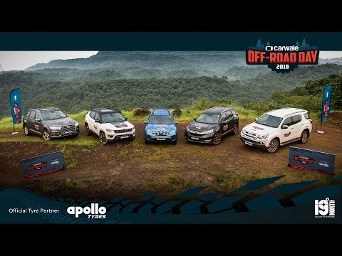 CarWale Off Road Day 2019 | Top SUV Comparison