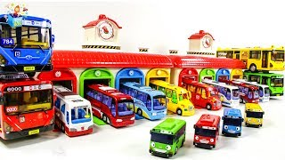 Learning Color disney cars and city Vehicle bus Transforming Play toys funny video for kids
