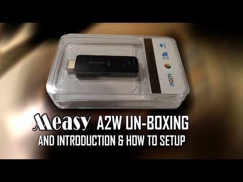 Measy A2W Miracast Dongle Unboxing & Introduction