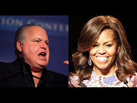Rush Limbaugh Lies About Michelle Obama