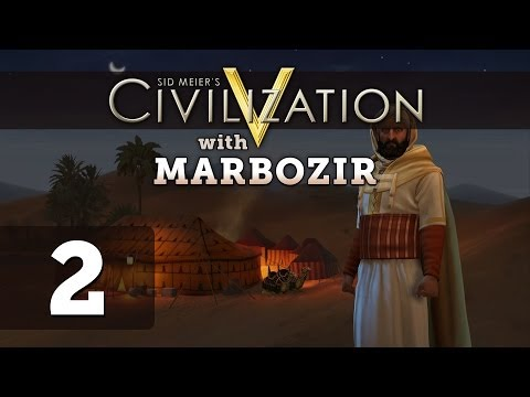 Civilization 5 Brave New World Deity Morocco Let's Play - Part 2