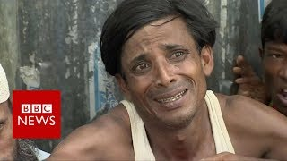 Rohingyas in Bangladesh desperate for aid - BBC News