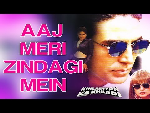 Aaj Meri Zindagi Mein - Khiladiyon Ka Khiladi | Akshay & Raveena | Babul Supriyo & Alka Yagnik video