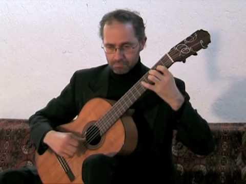 GIUSEPPE CARRER plays Dionisio Aguado Le Fandango varié