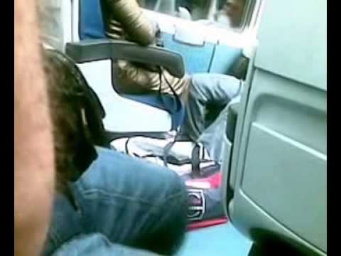 Pazzo su IR Napoli – Roma Ottobre 2007 – 1° video