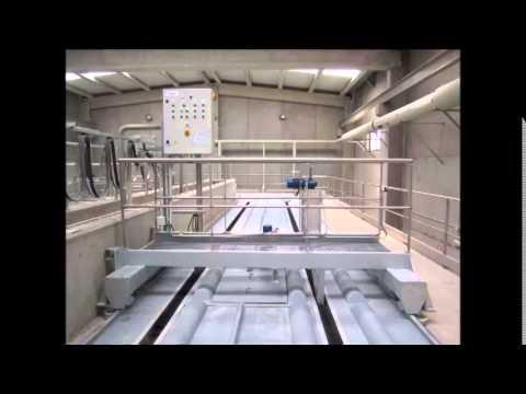 Sand+Scum removal bridge PL009® + Scum concentrato