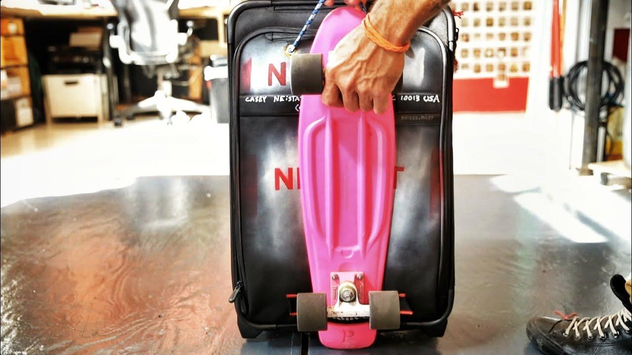 Diy Custom Pennyboard Suitcase Youtube