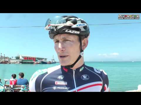 Andre Greipel interview at Tour of Turkey