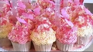 CUPCAKES - QUICK & EASY COMMERCIAL CAKE DECORATING DESIGN IDEAS & PIPING TECHNIQUES