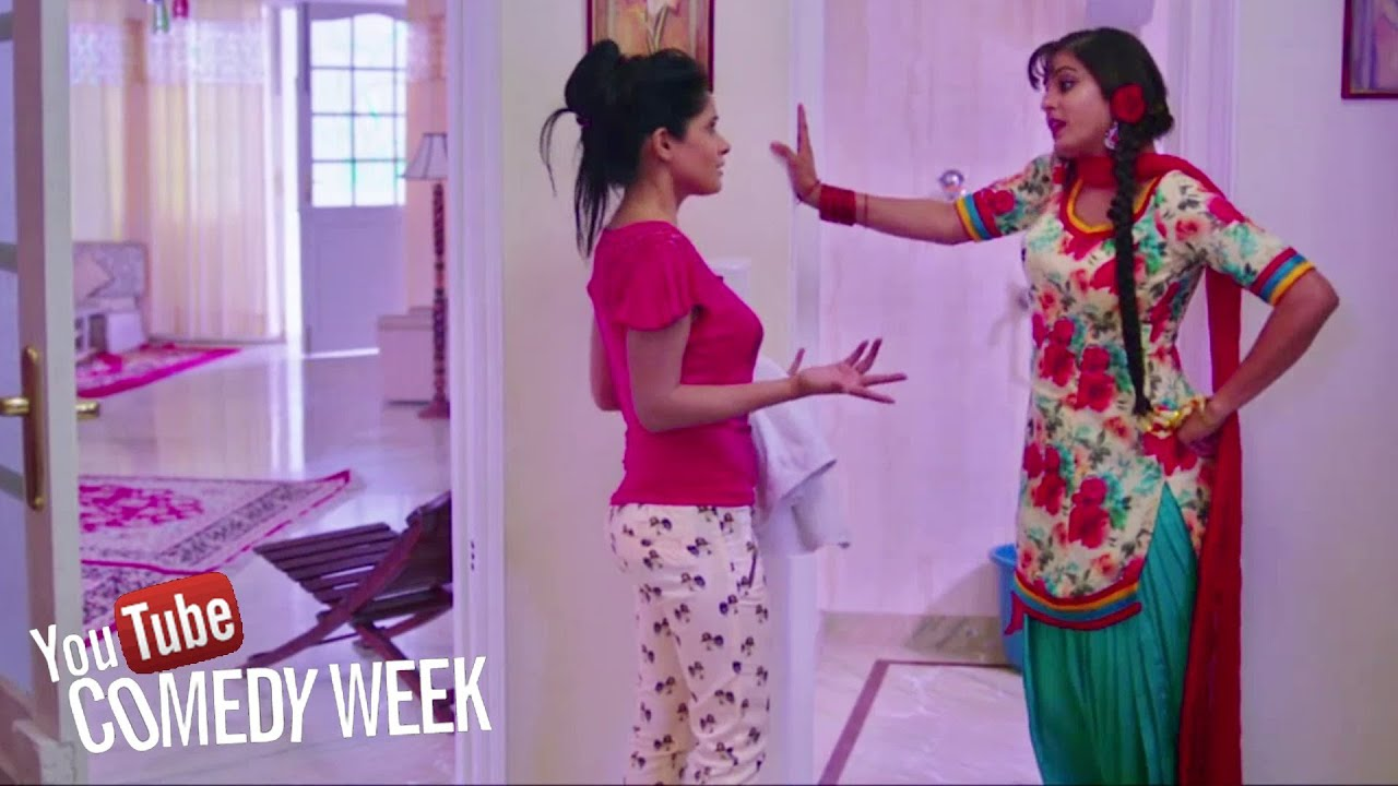 Girls Fight - Comedy Scene from Latest Punjabi Movie of ...