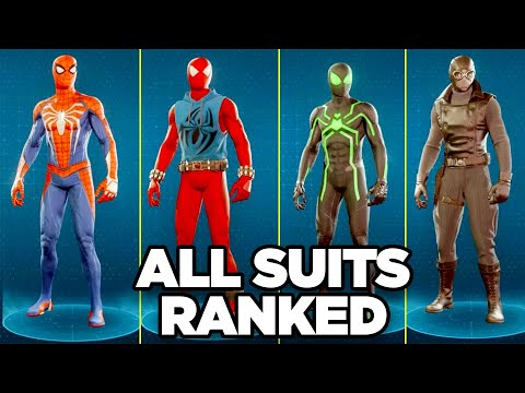 Spider-Man PS4: Ranking All Costumes Worst To Best