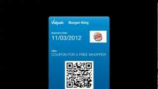 Burger King Coupons for Passbook