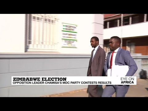 Zimbabwe: Chamisa's lawyers contest election results in court thumbnail