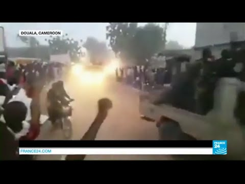 FIGHTING BOKO HARAM - Chadian troops receive a hero's welcome in Cameroon