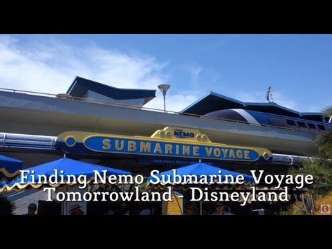 Disneyland Ride Through - Finding Nemo Submarine Voyage On-Ride POV