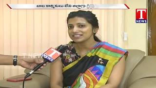 Warangal Collector Amrapali  Speaks to Media Over Child Labour Free - F to F  live Telugu - netivaarthalu.com