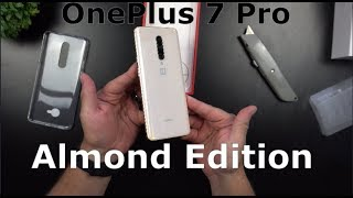OnePlus 7 Pro Almond Edition - UNBOXING & SETUP