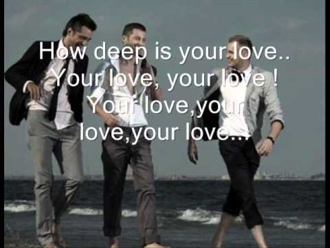 How Deep Is Your Love - Akcent With Lyrics video