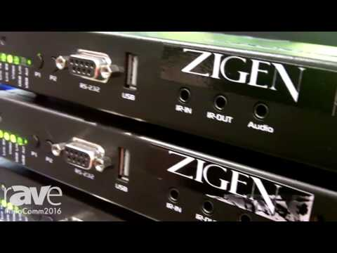 InfoComm 2016: ZIGEN Introduces IP-Logic Video Product