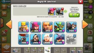 Clash of Clans Köy bina 8 şampiyon olma part 1